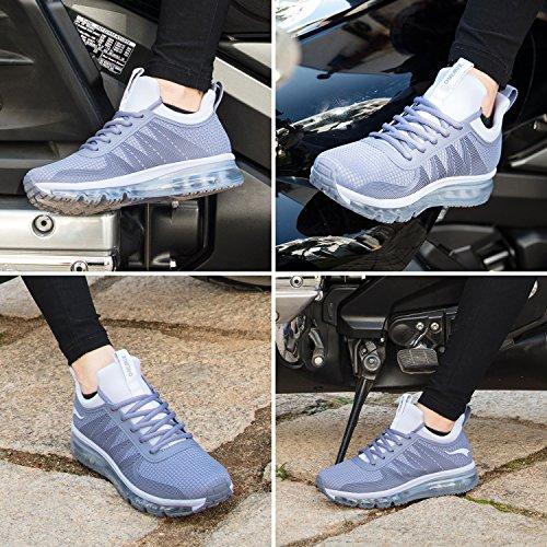 et Spécialisées à Respirant Léger Course Chaussures pour Pied Chaussures Sport de Hommes Gris Argenté Sneaker de ONEMIX qOvwRUxU