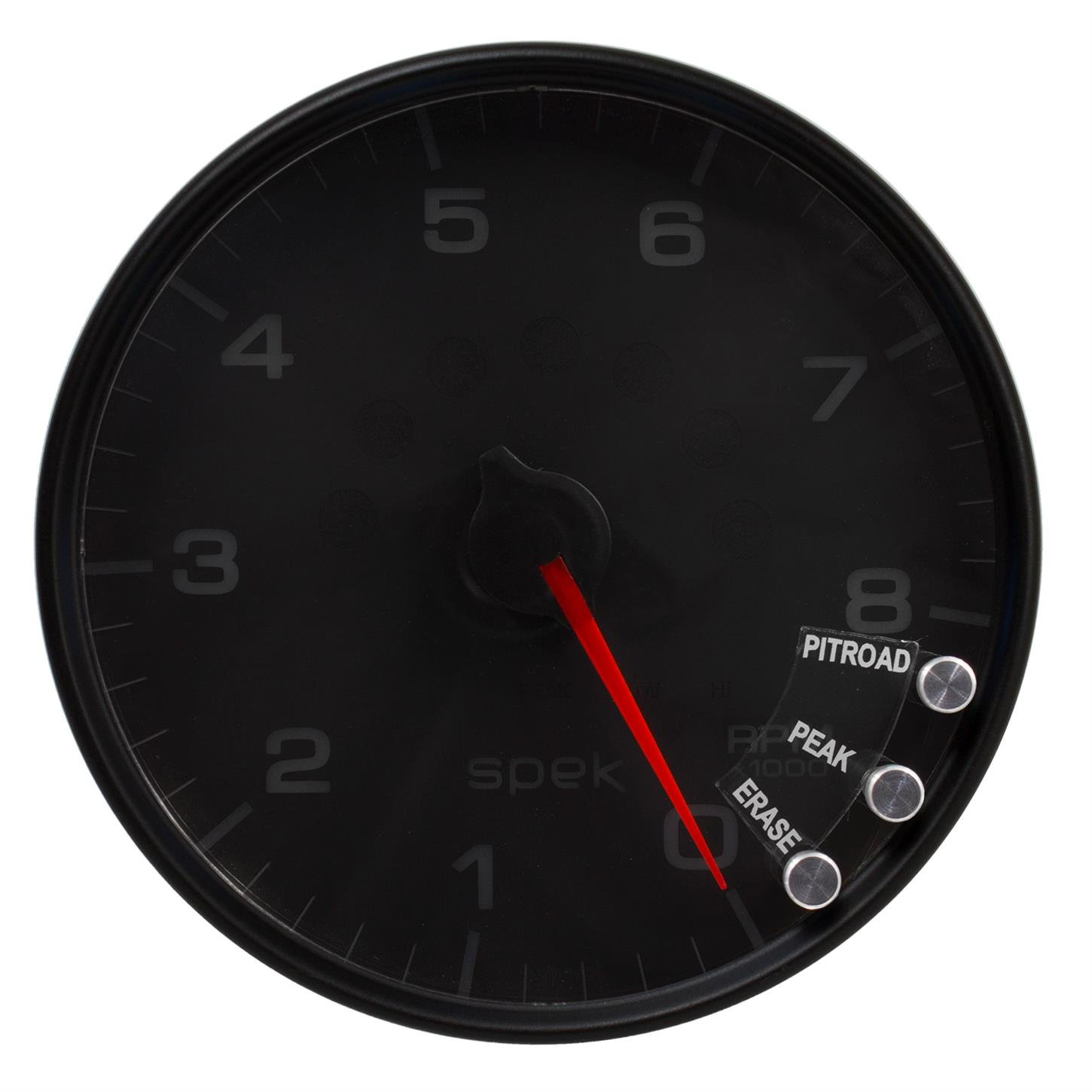 Auto Meter P23832 Gauge Spek-Pro 5 Black W//Shift Light /& Peak Mem 8K RPM 5 Tachometer