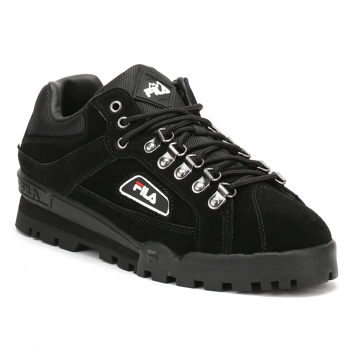 2f47eceb04d8 Fila Black White Trailblazer Trainers  Amazon.co.uk  Shoes   Bags