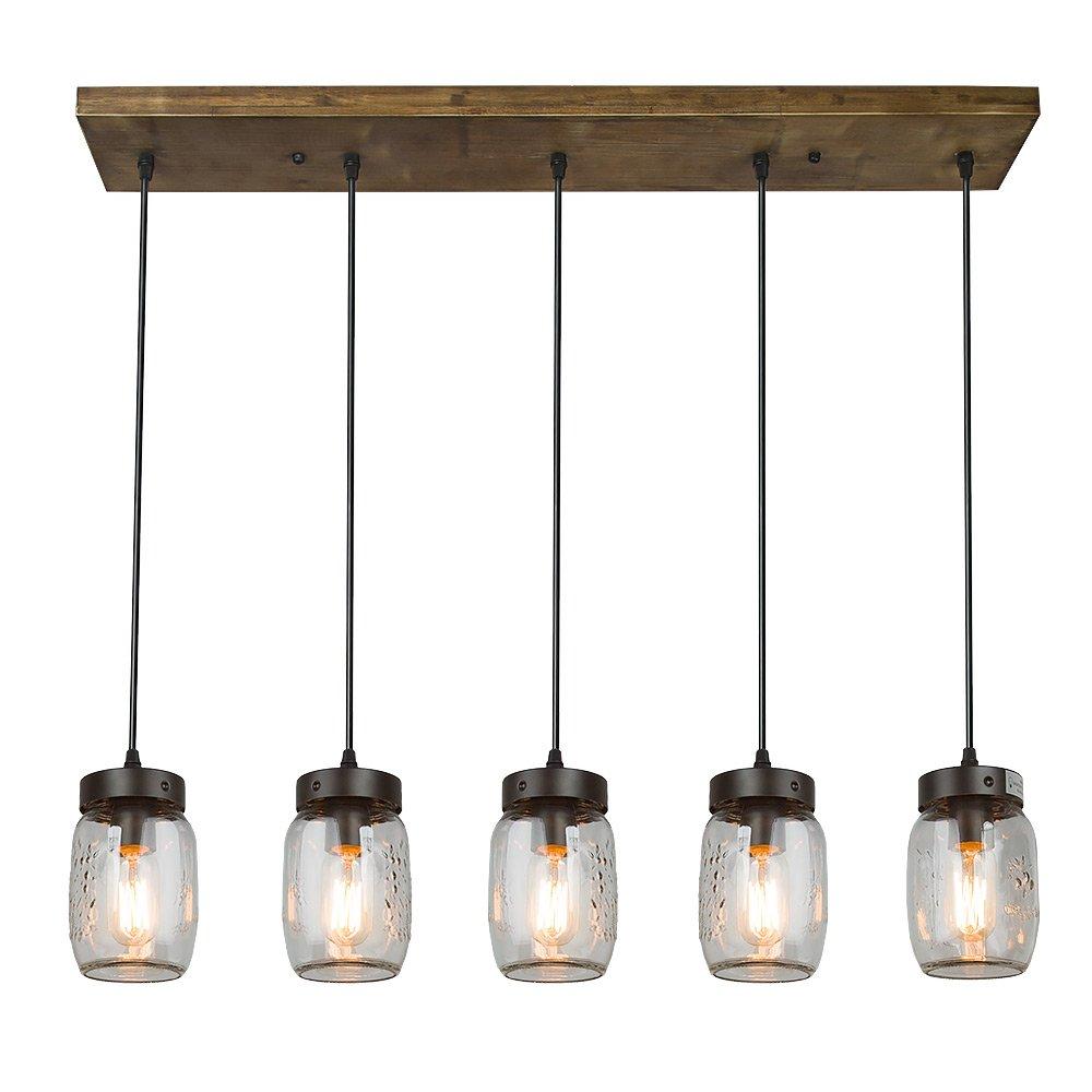 Glass Jar Pendant Lighting Mason Jar Lightglass Pendant