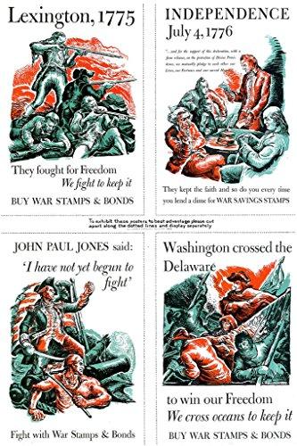 WPA War Propaganda Buy War Bonds Art Print Mural Giant Poster 36x54 inch