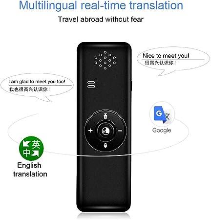 Supporta 40 Lingue Affari traduttore vocale elettronico in Tempo Reale per Imparare a Fare Shopping MOGOI traduttore istantaneo Offline Dispositivo traduttore Intelligente per Lingua Viaggi