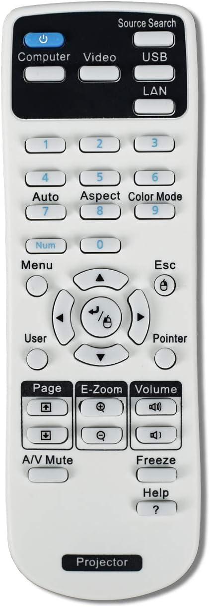 Mando a Distancia para proyector Epson CB-S04 X04 X29 X31 X36 97H ...