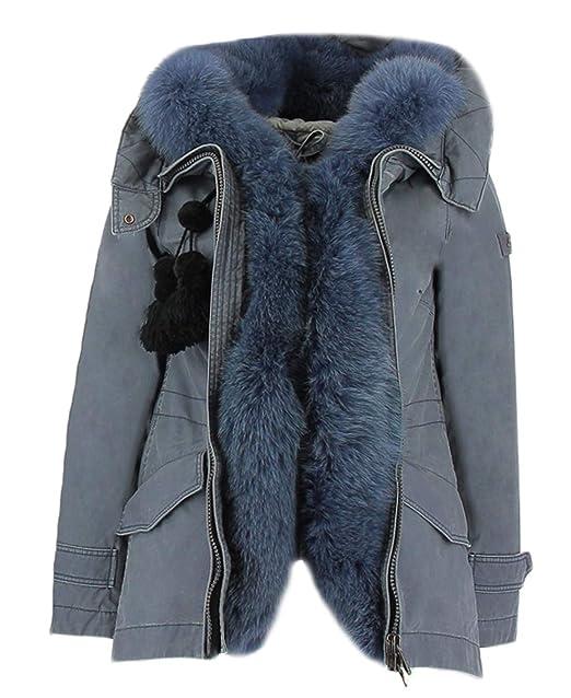 Peuterey Giacca Carta da Zucchero Tse Lm Fur 42  Amazon.it  Abbigliamento ad506eefe4b