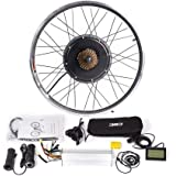 CSCbike MTB E-Bike Conversion Kit 36/48V Mountain Electric Bicycle Rear Wheel Conversion Parts with KT LCD3 Display Controller PAS Brake Lever