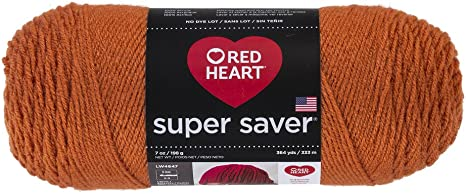 Red Heart Super Saver Yarn Carrot
