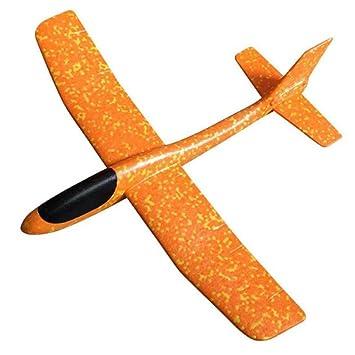 9ffb63cd906050 グライダー 子供 おもちゃ 手投げ 飛行機 モデル 回転飛行 知育おもちゃ 指先鍛え 発泡製 軽量