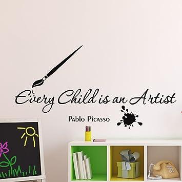 PICASSO Vinyl wall art sticker decal mural