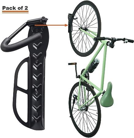 Vertical Wall Mounted Bike Bicycle Storage Hook Rack Holder Hanger Stand Bracket