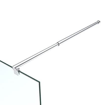 Asidero para mamparas de ducha Ducha Mampara redondo bieleta Acero Inoxidable Ajuste 700 – 1200 mm Cristal Fortalecer 6 – 10 mm GS21