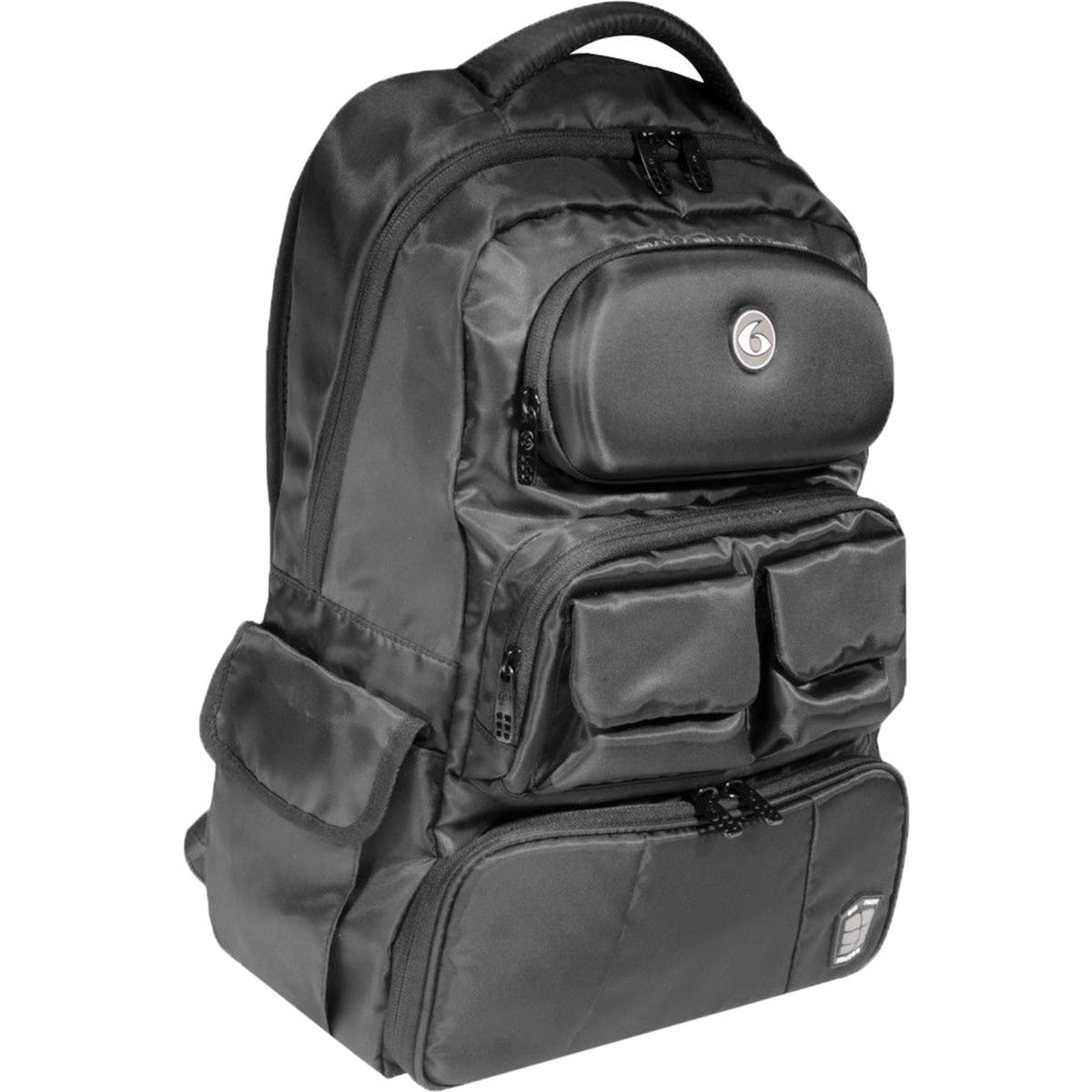 47f689adcbe4 Amazon.com  6 Pack Fitness Mach 6 Athletic Backpack - Stealth Black  Sports    Outdoors