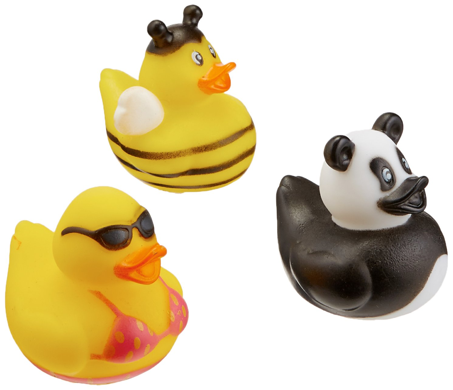 Rhode Island Novelty 2'' Rubber Duck Assortment (100 Piece)