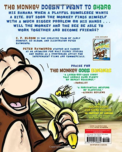 The Monkey and the Bee (The Monkey Goes Bananas) by Abrams Books for Young Readers (Image #2)
