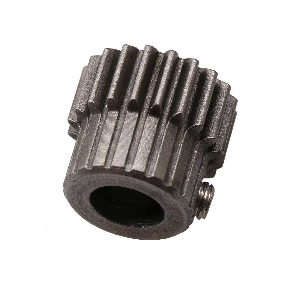 Yibuy 0.5 Modulus 20T Motor Pinion Gear 5mm Hole Dia for RC Car Models 11x10mm