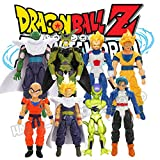 New 8Pcs Dragon Ball Z Joint Movable Action Figure DBZ Goku Trunks Piccolo Anime Toy