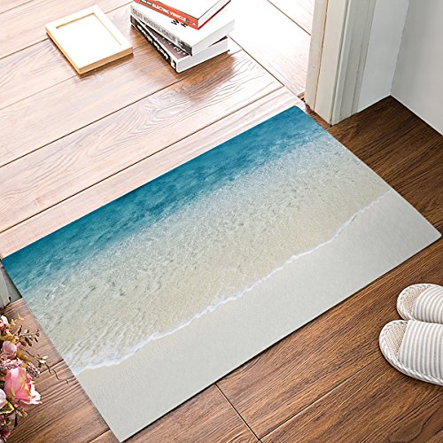Cheap  ALAGO Tropical Beach Clear Sea Water Doormats Entrance Front Door Rug Outdoors/Indoor/Bathroom/Kitchen/Bedroom/Entryway..