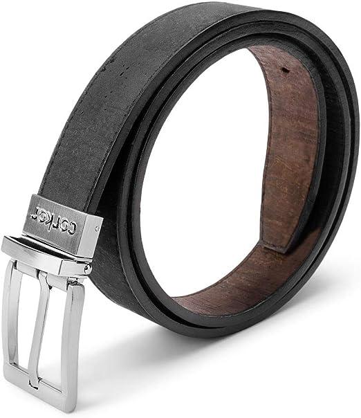 "Vegan Ladies Belt Wide Black Cut Out Design Size Large Fits 31/' to 33/"" Waist"