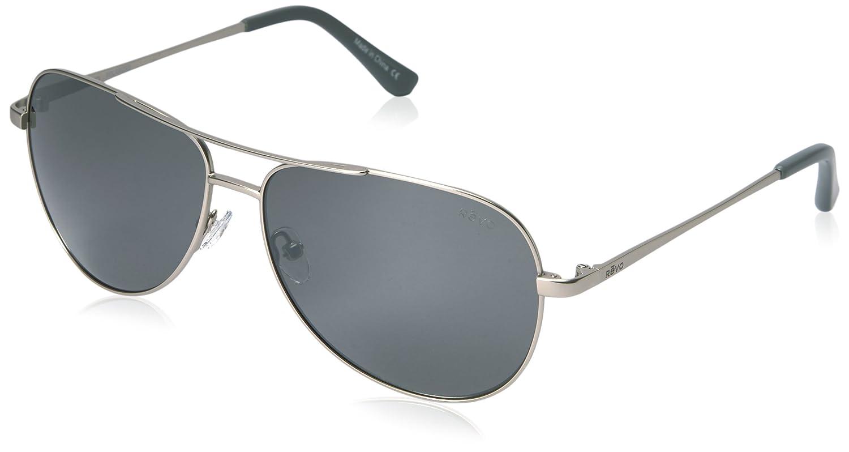 10f0aa1e020 Revo Eyewear Sunglasses Johnston Satin Silver with Polarized Graphite  Lenses  Amazon.co.uk  Sports   Outdoors