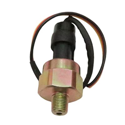 100 Psi 5V Pressure transducer for Oil Fuel Water Air Pressure - Stainless Steel: Automotive