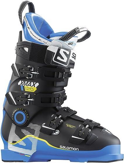 Salomon X Max 120 Alpine Downhill ski Boots for Men BlueBlack