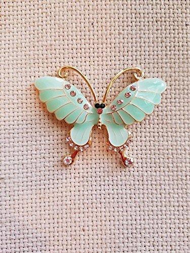 Green Needles (Needle minder, Butterfly (Seafoam)
