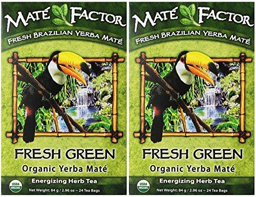 (The Mate Factor Yerba Mate Energizing Herb Tea Bag)