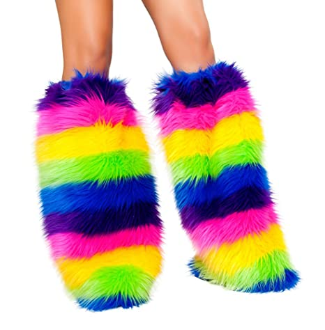Rainbow Leg Warmers - Fun And Practical Gift For Color Lovers