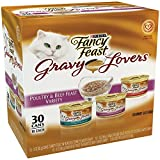 Fancy Feast Gravy Lovers Poultry & Beef Feast Variety Pack Adult Canned Cat Food, cans by Fancy Feast For Sale