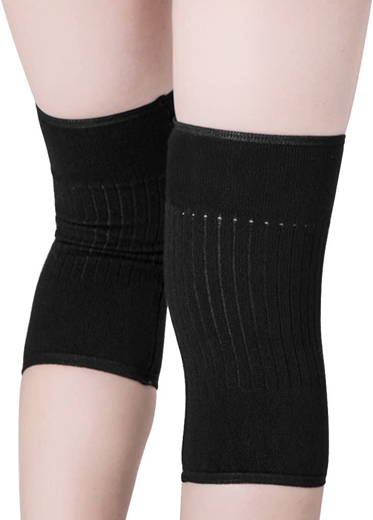 IPENNY Unisex Soft Cozy Knee Warmer Relief Arthritis Tendonitis Knee Pads Leg Sleeves for Women MenThermal Stretchy Knee Brace Leg Warmers Cozy Warm Sports Knee Pads for Cycling Hiking Camping