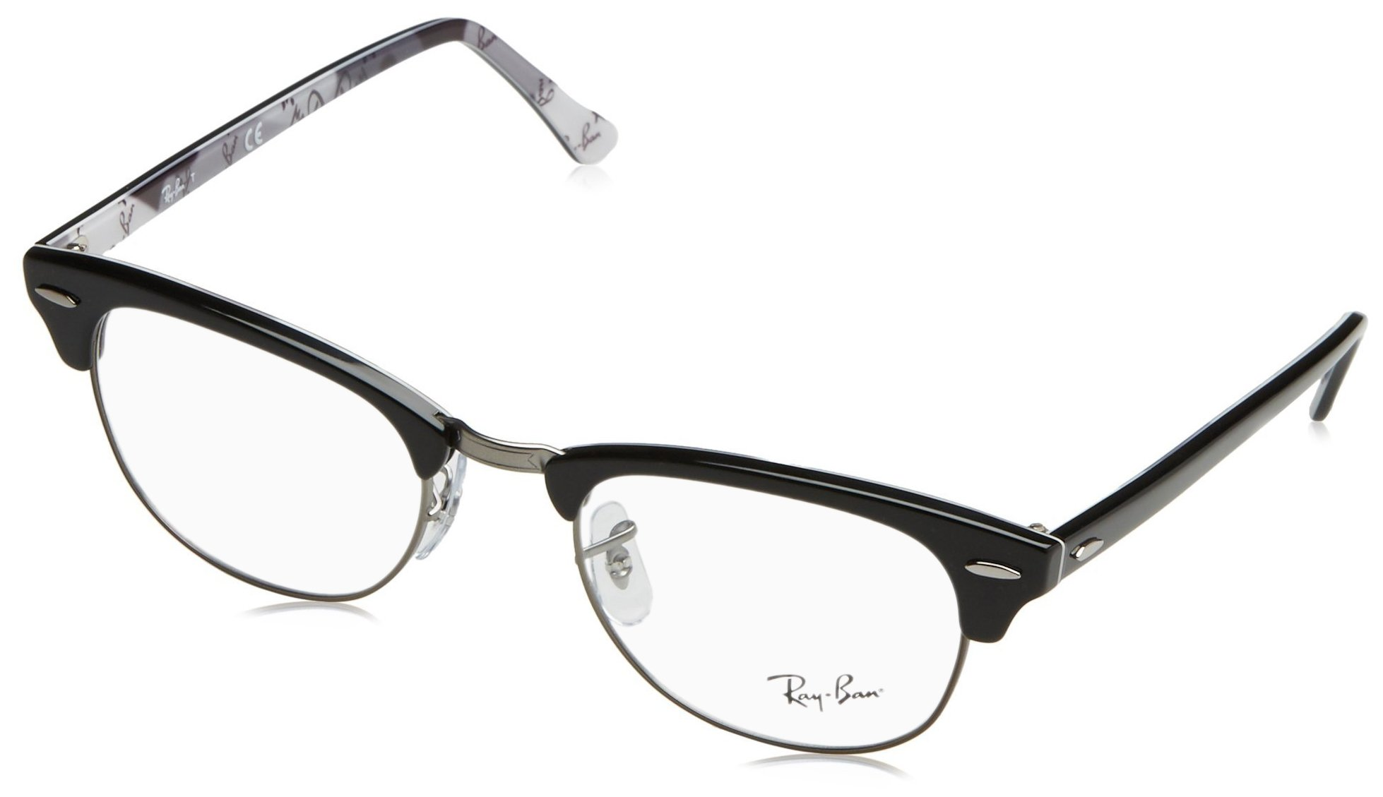 Ray-Ban Clubmaster Square Eyeglasses, Tortoise, 49 mm by Ray-Ban