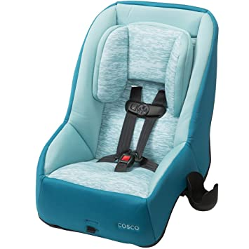 Amazon.com : Cosco Mighty Fit DX Convertible Car Seat, Heather Mist ...