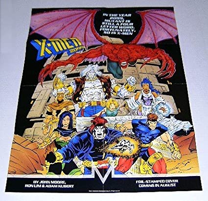 Amazon.com: 1993 22 by 17 inch de Marvel Comics X-Men 2099 ...