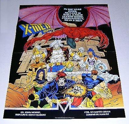 Amazon.com: 1993 22 by 17 inch de Marvel Comics X-Men 2099 ...