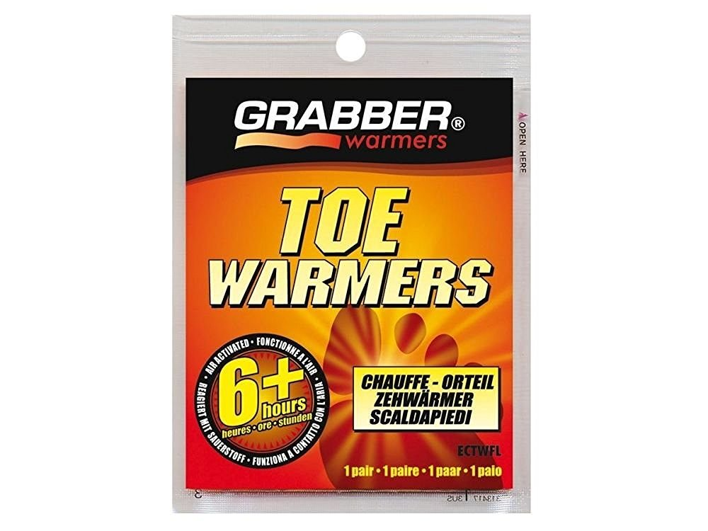 Grabber Warmers ECTWFL 10 Pack 3in. x 4in. 6+ Hour Toe Warmer