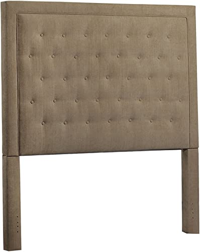 Leffler Home Brooke Pecan Eden Upholstered Headboard