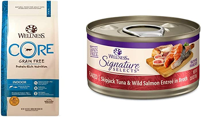 Wellness Natural Pet Food CORE Signature Selects Flaked Wet Cat Food