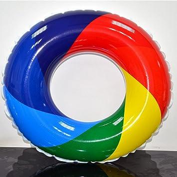 Rainbow Swim Ring - Piscina Hinchable Hinchable Para Adultos ...