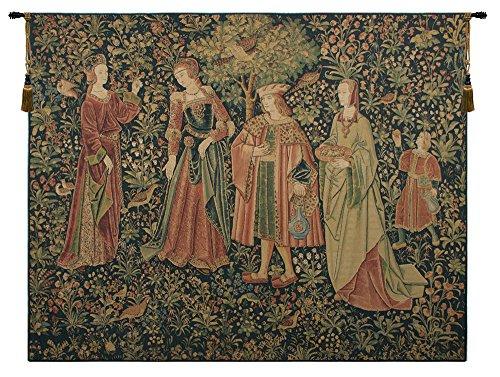 (Promenade (Flanders) Belgian Tapestry Wall Hanging)