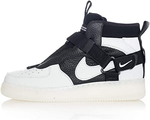 air force 1 noir mid