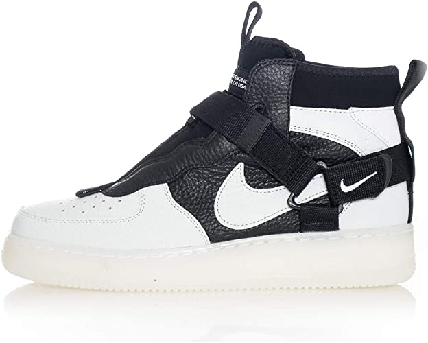Sneakers Nike Air Force 1 Utility Mid White AQ9758 100