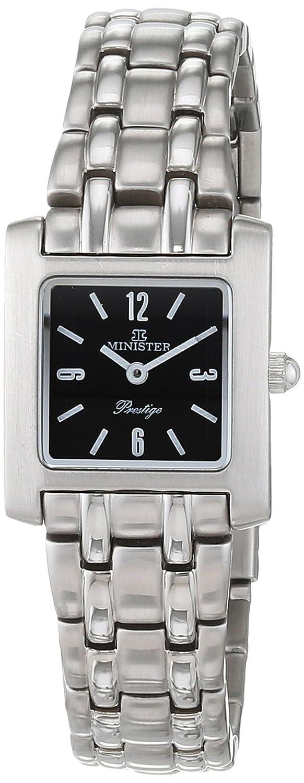 Minister Reloj Análogo clásico para Mujer de Cuarzo con Correa en Acero Inoxidable 4650 Prestige: Amazon.es: Relojes