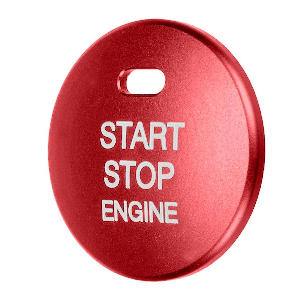 Car Engine Start Stop Push Button Ignition Switch Cap Cover Trim for Mazda 3 Axela CX-3-4-5 Childplaymate