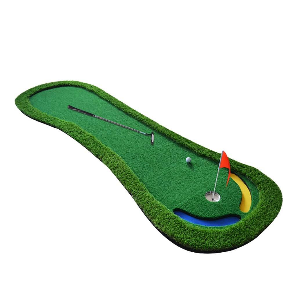 ゴルフマット、スロープデザイン、シミュレートグリーンズ、パタートレーナー、屋内外 B07H2B71TK