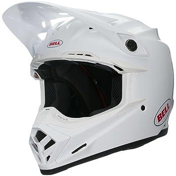 Bell 7091823 Moto-9 Mips Casco, Solido Blanco, Talla XL