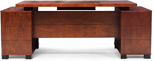 Zuri Furniture Ford Executive Modern Desk