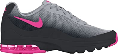 b08e6b7cfe Nike Kids Air Max Invigor (GS) Black/Hyper Pink Wolf Grey Running Shoe