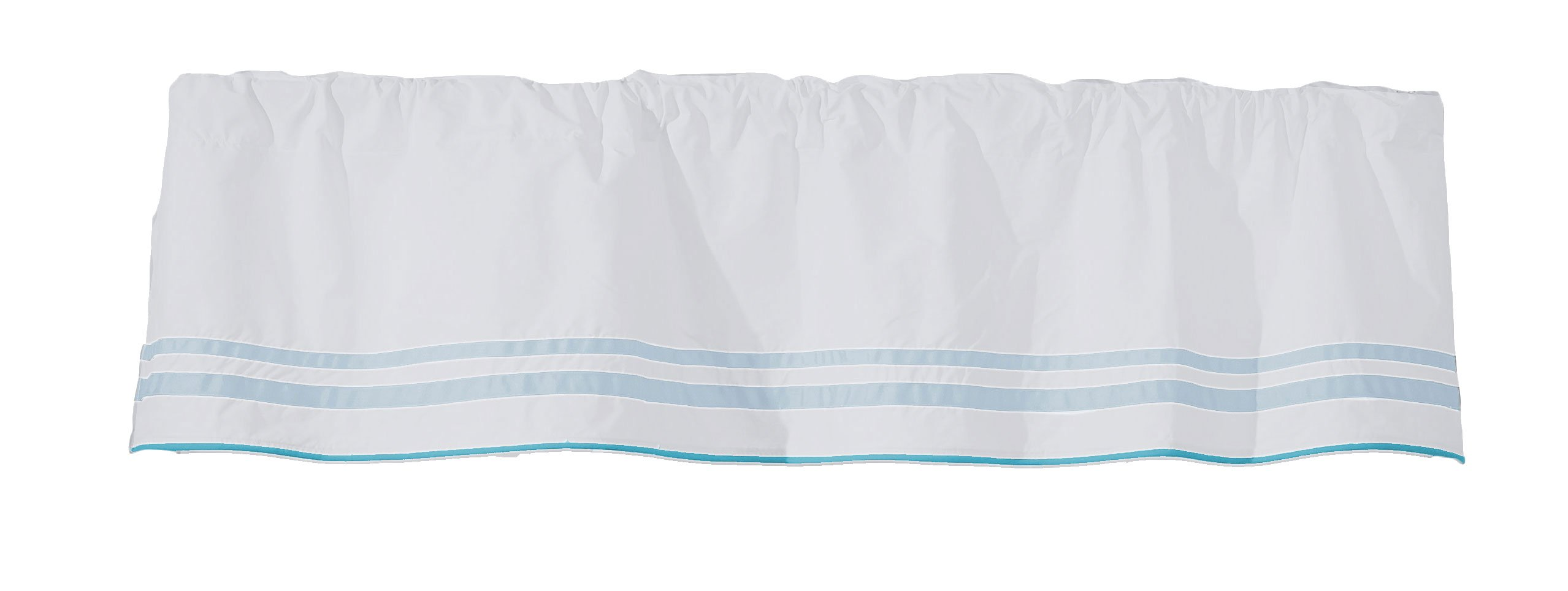 Baby Doll Bedding Soho Window Valance, Blue