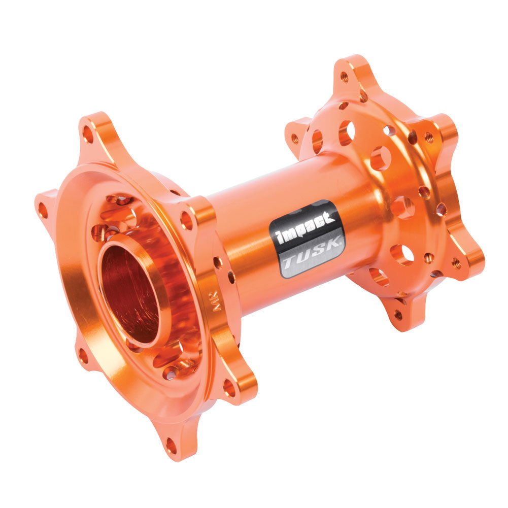 Tusk Impact Motorcycle Hub - Rear Orange -Fits: KTM 250 SX-F 2013-2015 4333048132