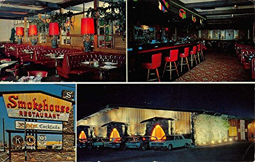 Phoenix Arizona Smokehouse Restaurant Multiview Vintage Postcard K38148