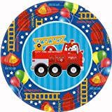 Fire Engine Fun Lunch Plates 8ct, Health Care Stuffs